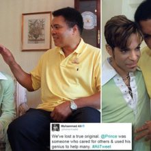 The only man who could make Prince starstruck: How Muhammad Ali and the late singer formed a close bond with the boxer's last tweets paying tribute to his dear friend